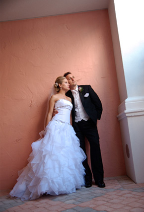 Don CeSar Bride & Groom - Image by Tampa Photo